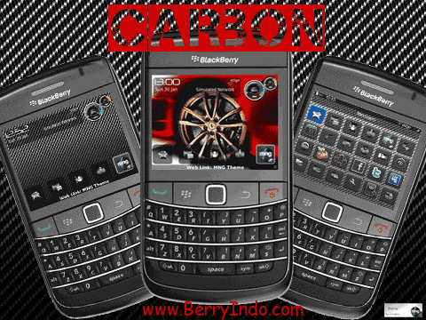 BB themes: ONYXian for Blackberry 9700.